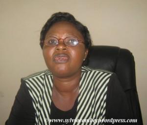 Awussaba Adjowa Pdte de la Commission Nationale d'aide de l'Etat à la Presse
